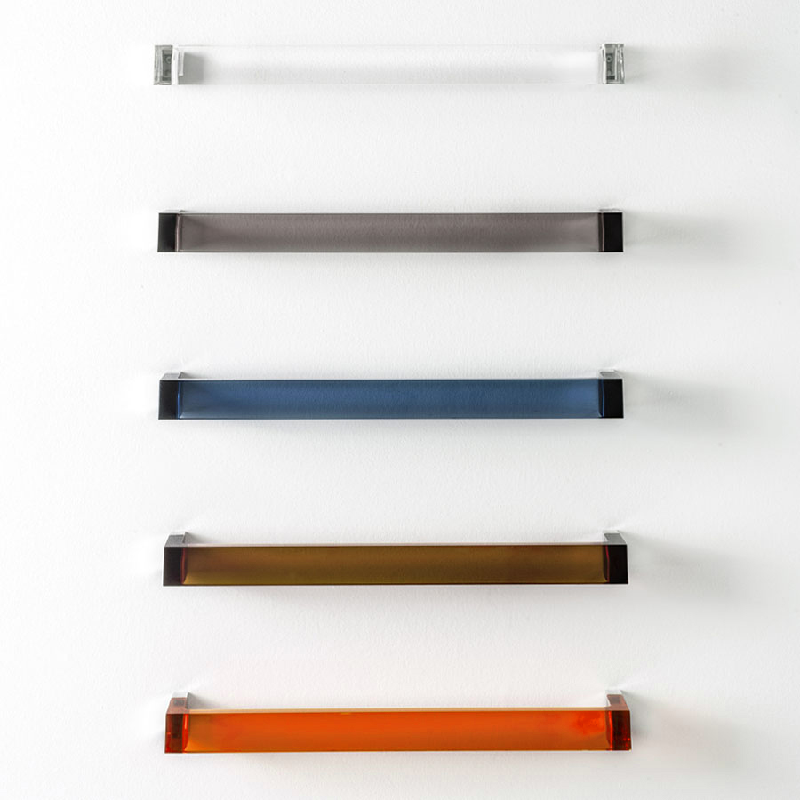 kartell rail modern transparent towel bar. kartell rail modern transparent towel bar  stardust