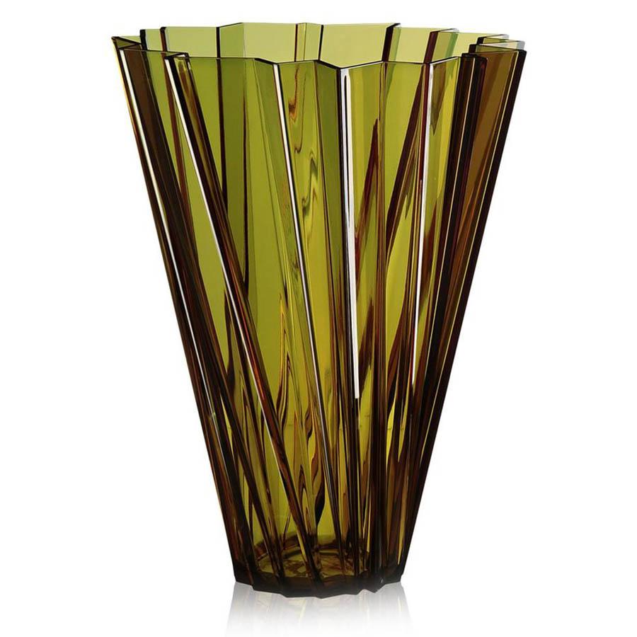 Brand-new Kartell Shanghai Vase with Round Tapered Shape for Flower  EA72