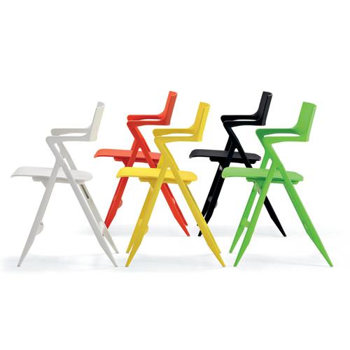 Kartell Dolly® Modern Folding Chair by Antonio Citterio  Stardust