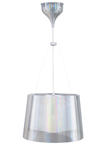 Ge Pendant Lamp By Kartell Transparent Stardust