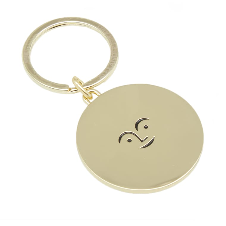 Sun Face Key Ring (Brass) by Alexander Girard for Vitra