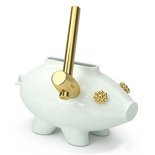 Moooi Contemporary Art The Killing Of The Piggy Bank Sculpture
