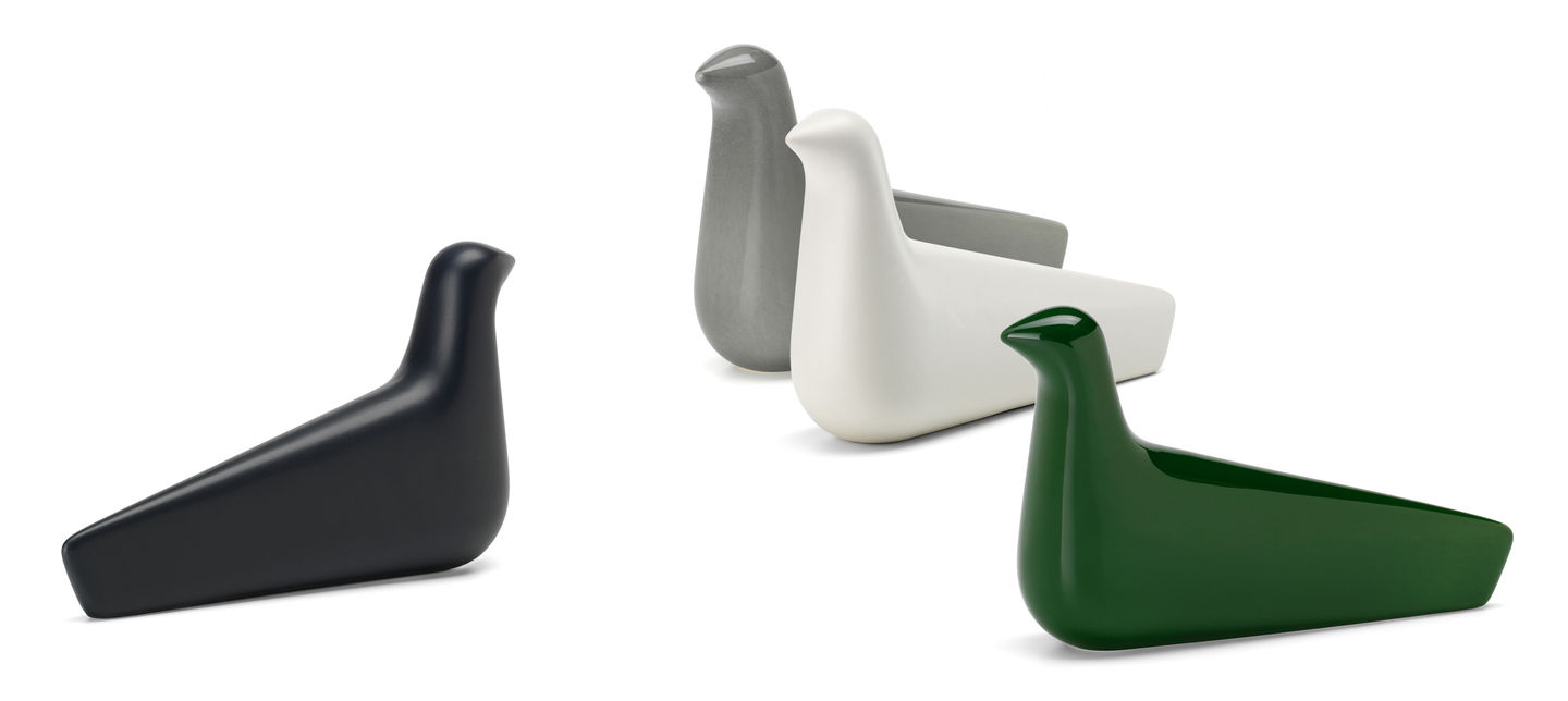 L'oiseau Ceramic Bird Figurine by Bouroullec for Vitra