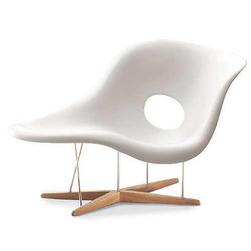 Vitra miniature la chaise chair by charles and ray eames for 4 chaises eames