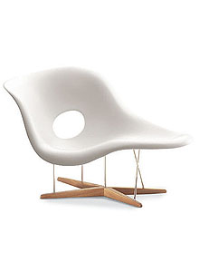 and ray eames vitra miniature la chaise chair by charles and ray eames