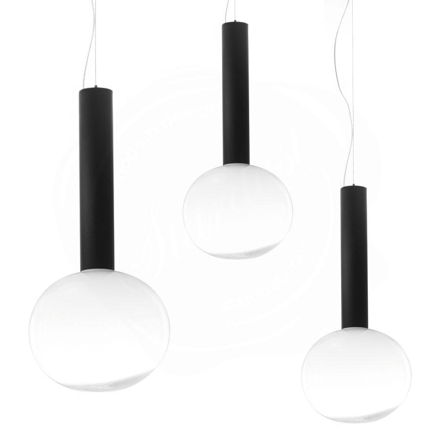 Artemide Laguna Modern Glass Pendant Suspension Light