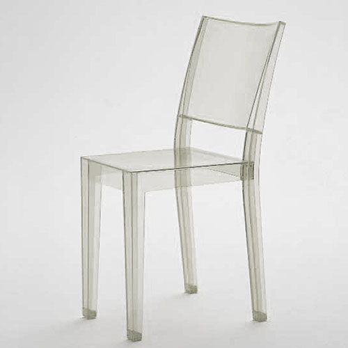 LA MARIE® modern Stacking chair by Kartell - Transparent | Stardust