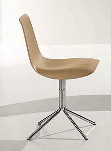 Ordinaire Bonaldo Lei Four Chair Modern Side Chair ...