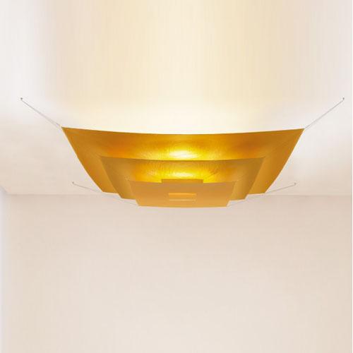 lil luxury ingo maurer bloom lamp gold ferruccio laviani
