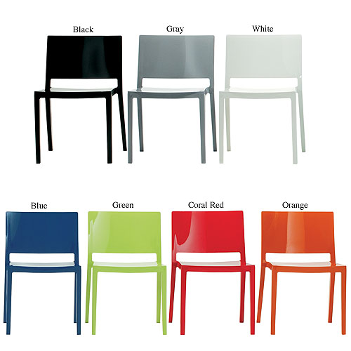 Kartell Garden Furniture Lizz modern dining chair by piero lissoni for kartell stardust kartell lizz modern dining chair workwithnaturefo