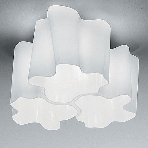 Artemide Logico Triple Nested Modern Ceiling Lamp