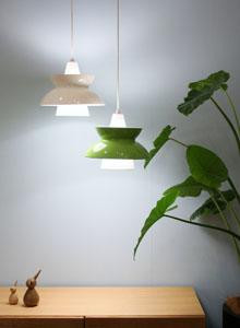 Louis Poulsen Mid-Century Modern Danish Design Doo Wop Pendant Light