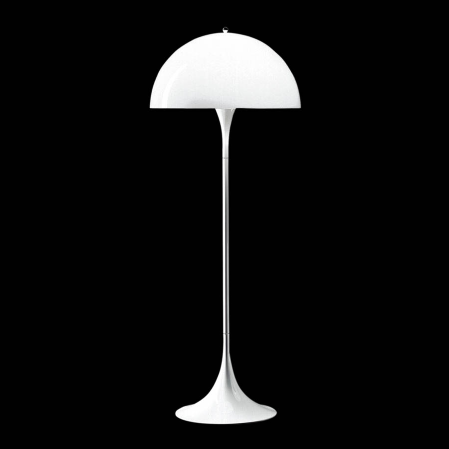 Panthella floor lamp stardust louis poulsen panthella modern floor lamp by verner panton white mozeypictures Images