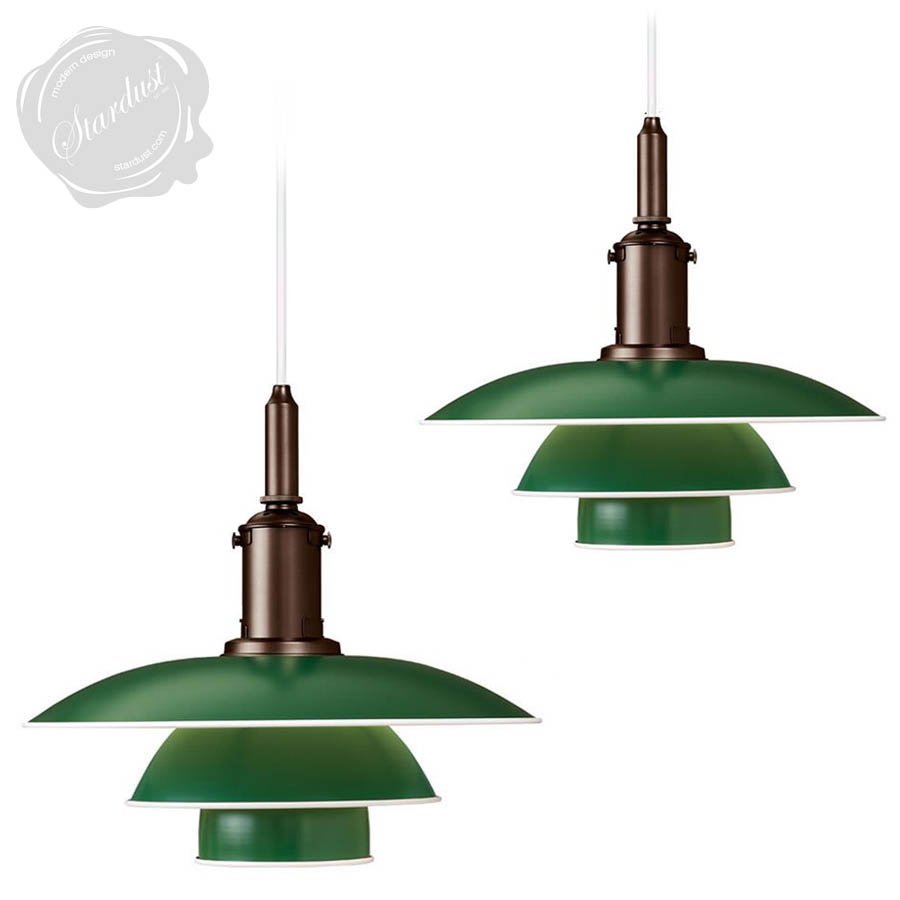 midcentury modern lighting. Louis Poulsen PH 3 1/2 Danish Mid-Century Modern Pendant Light | Stardust Midcentury Lighting .