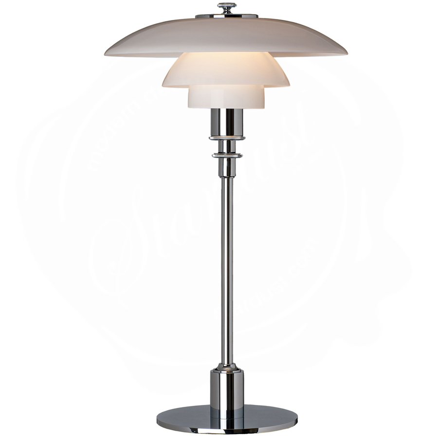 Modern glass table lamp - Louis Poulsen Ph 3 2 Modern Glass Table Lamp