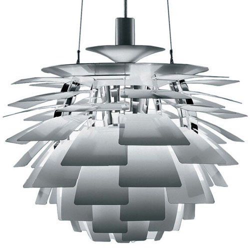 Louis poulsen large arhitectural ph artichoke modern danish lamp in louis poulsen stainless steel ph artichoke aloadofball Choice Image