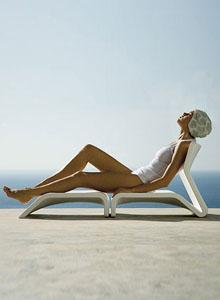 Gandia Blasco Butaca Clip Modern Outdoor Lounge Chair ...
