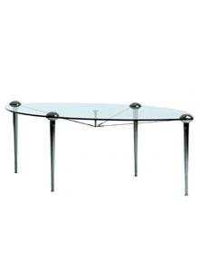 Cerruti Baleri Ludwig Elliptical Modern Dining Table ...