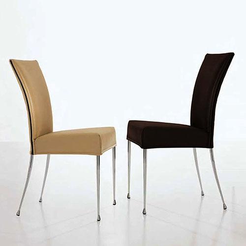 Bonaldo Martina Modern Dining Chair by James Bronte Stardust