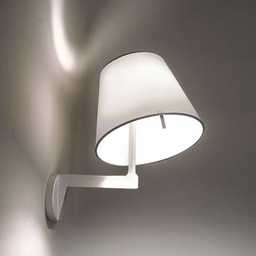 newest 30064 ce52a Artemide Melampo Mini Wall Lamp by Adrien Gardere