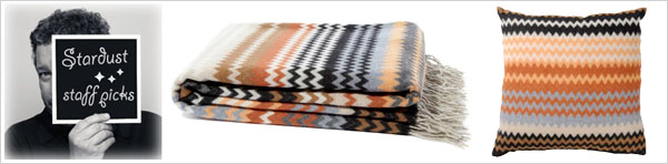 missoni home humbert throw and pillow