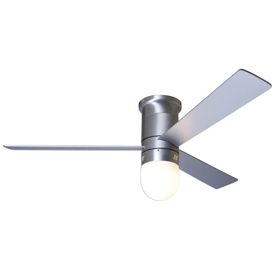 CIRRUS hugger Ceiling fan brushed aluminum contemporarymodern