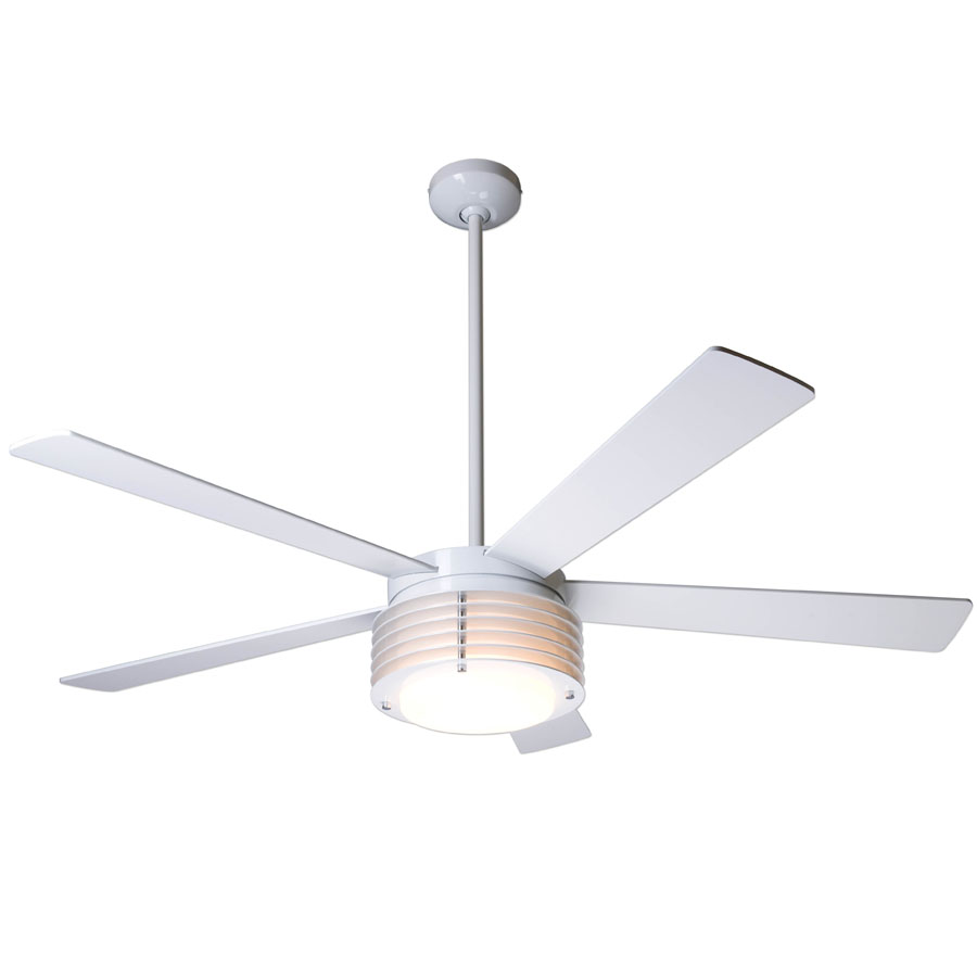 modern ceiling fan white. pharos ceiling fan by the modern white r