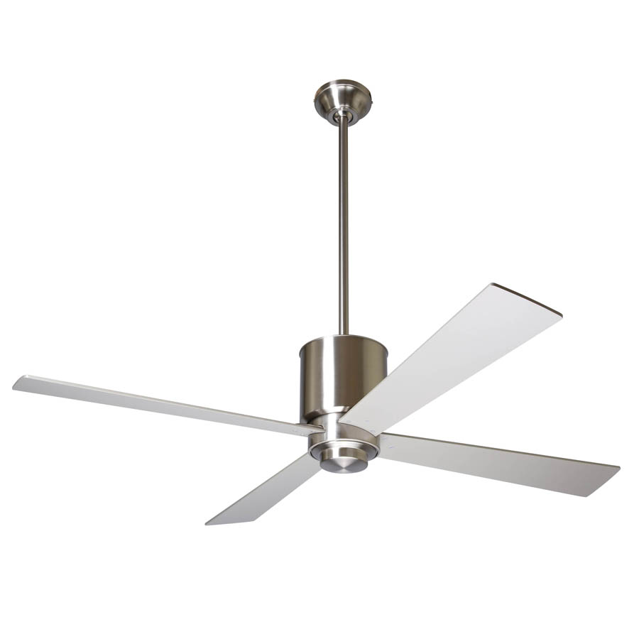 four settings silver with industrial companies fan ceiling