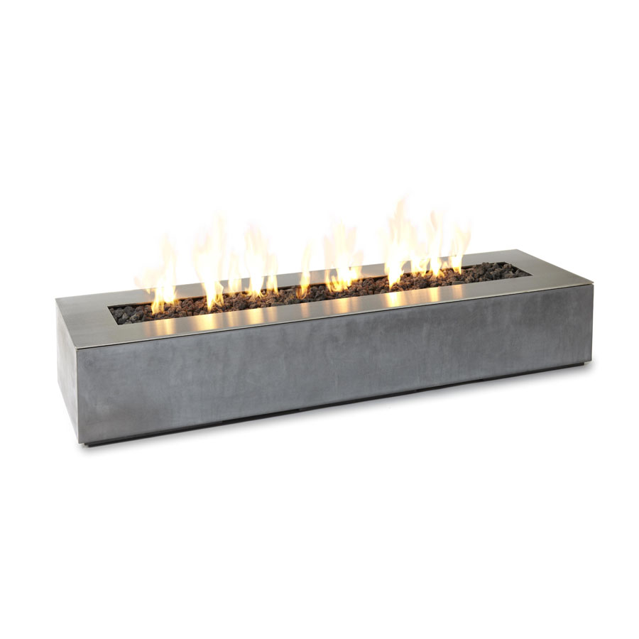 Paloform Robata Modern Rectangular Concrete Outdoor Fire ...