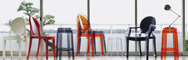 chairs by kartell