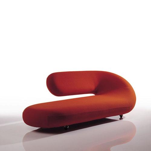 artifort c248 cleopatra modern chaise lounge by geoffrey harcourt