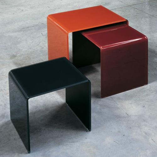 Glas Italia Curvi Glass Coffee Or Side Table By Studio Ea