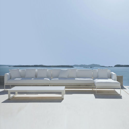 Gandia Blasco Flat Modern Outdoor Sofa