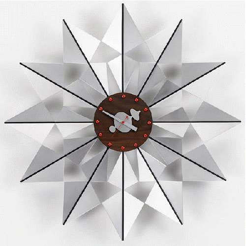 Vitra Flock Of Erflies Modern Wall Clock