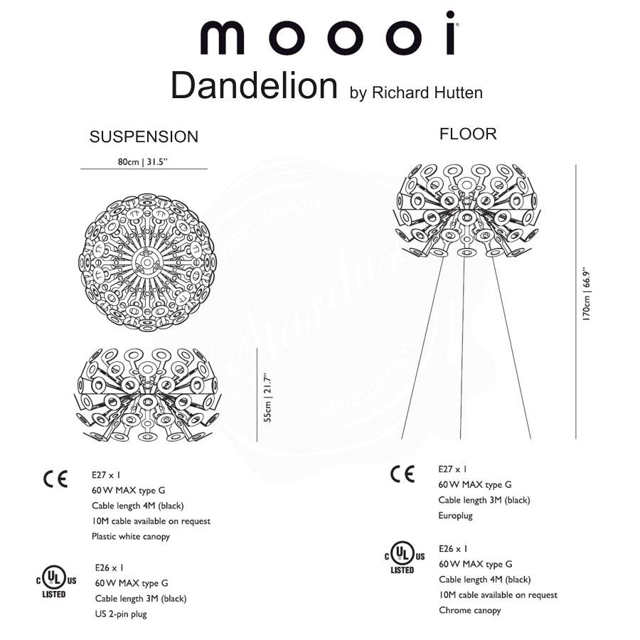 cable pendant lighting. modren cable moooi dandelion pendant light  in cable lighting s