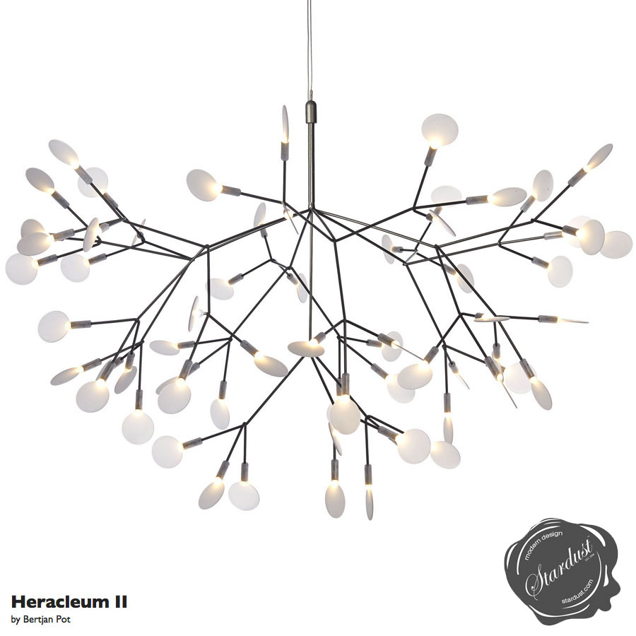 Moooi Chandelier together with  on dusk to dawn led puck lights