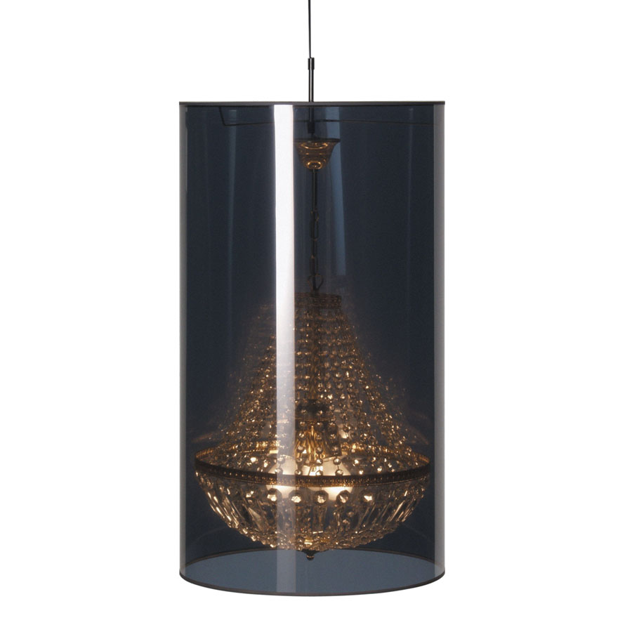 light shade shade d47 chandelier by jurgen bey stardust. Black Bedroom Furniture Sets. Home Design Ideas