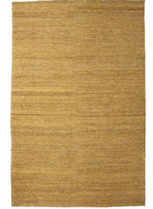 natural earth jute rug ocher