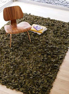 Nanimarquina Little Field of Flowers Rug in Green