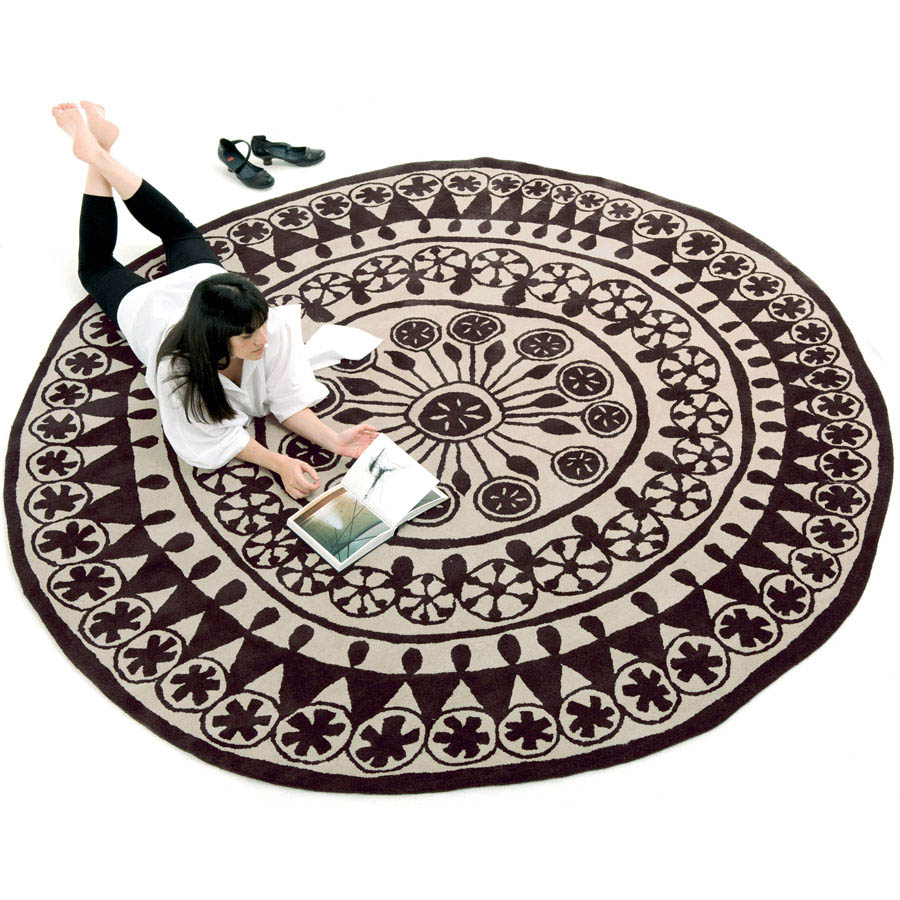 modern for leather design style round rugs living area dining room plush contemporary image of large designs all rug carpet