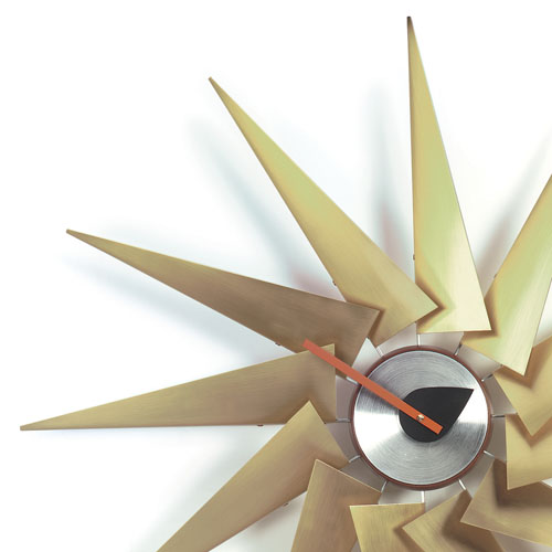 george nelson eye clock vitra sunflower reproduction turbine hands