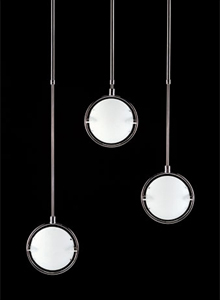 FontanaArte Nobi Large Glass Pendant Lamp | Stardust
