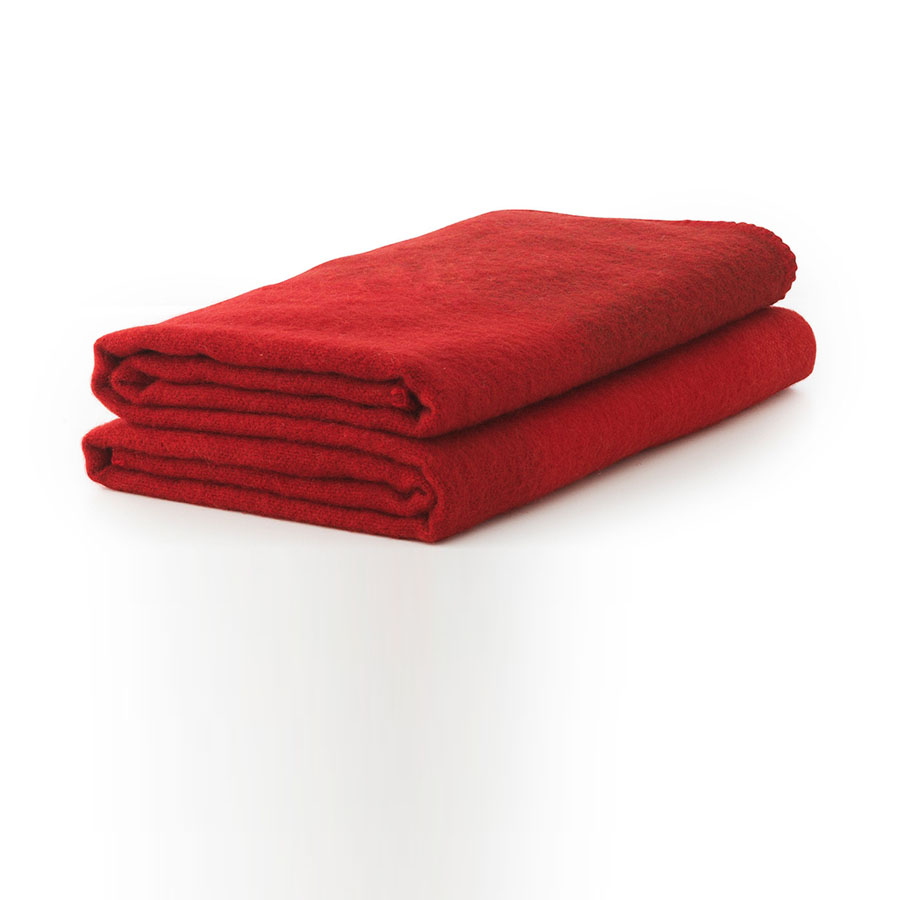 plush wool redstriped inch by inch throw blanket color  - plush wool redstriped inch by inch throw blanket color red