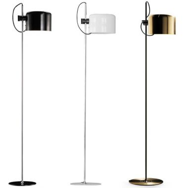 Coupe floor lamp 3321 oluce 1960s italian