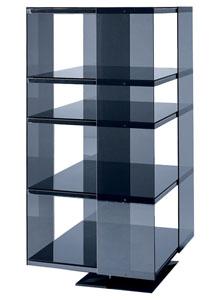 glas italia omnibus modern glass shelving unit stardust. Black Bedroom Furniture Sets. Home Design Ideas