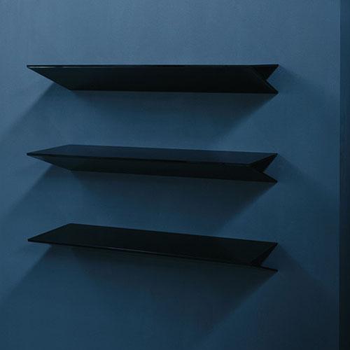 Modern Wall Shelf glas italia on modern wall mounted shelfennio arosio | stardust