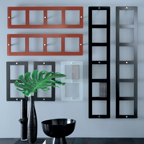 glas italia on air porta dvd modern wall mounted shelf | stardust