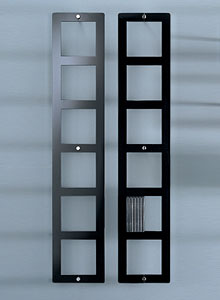 Glas Italia On Air Porta Dvd Modern Wall Mounted Shelf
