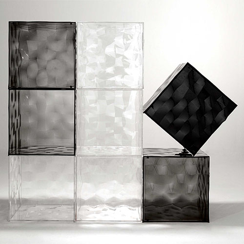 Optic cube kartell - Etagere pour separer une piece ...