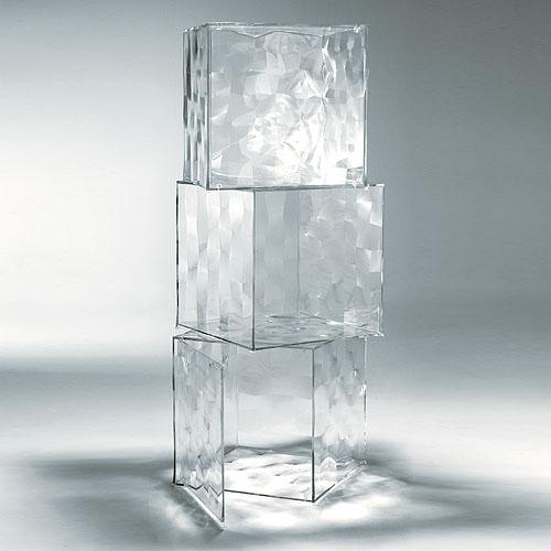 Kartell Optic Storage Cube ... Ideas